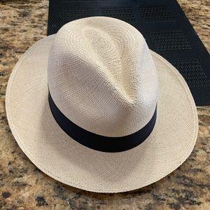 Jcrew genuine panama hat s/m